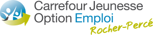 Logo CJE et Option Emploi Transparent