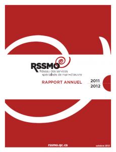 Rapport annuel 2011-2012 du RSSMO