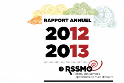 Rapport annuel 2012-2013 du RSSMO