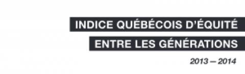 Indice québécois d'équité entre les générations