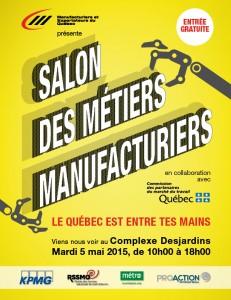 Affiche Salon des métiers manufacturiers jpeg