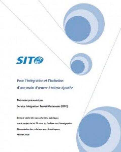 Mémoire du SITO (projet de loi 77)