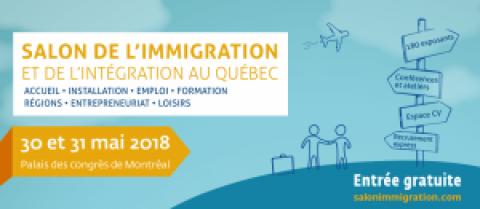 Salon de l'Immigration et de l'Intégration au Québec 2018