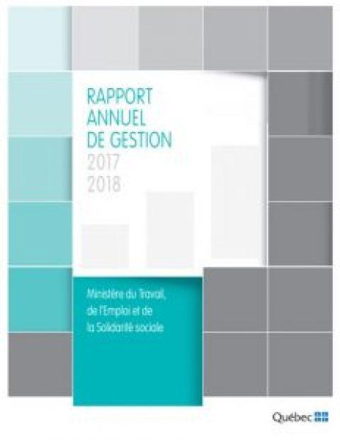 Rapport annuel de gestion Emploi-Québec 2017-2018 et nouvelle grille tarifaire