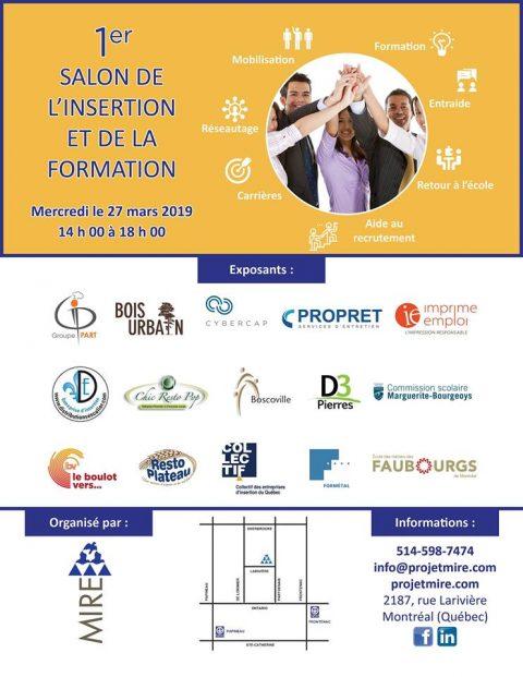 Événement – Salon de l'Intégration et de la Formation 2019
